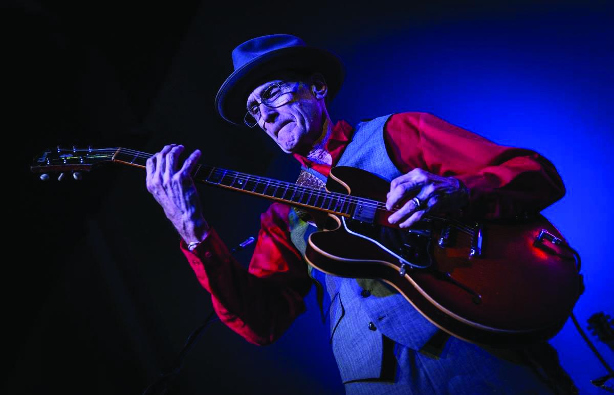 Blues Giant LA Jones, photo by Marilyn Stringer 2018