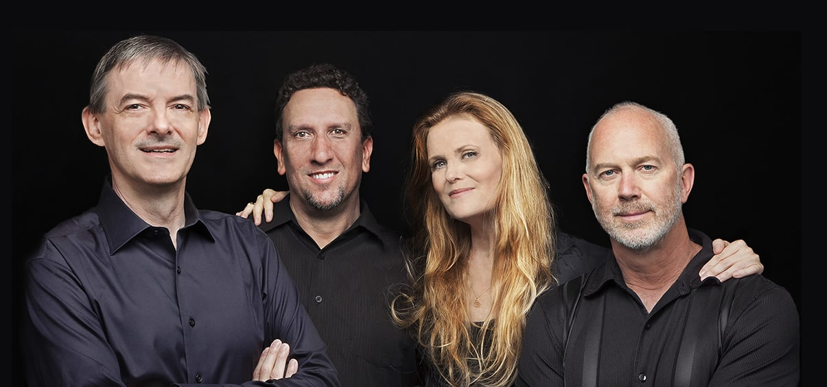 The Tierney Sutton Quartet – Christian Jacob, Kevin Axt, Sutton, and Ray Brinker